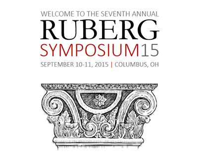Ruberg Symposium 2015 Program