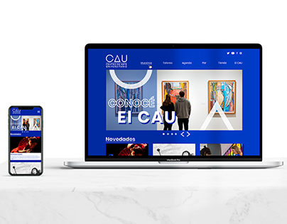 Diseño UX/UI Web - Centro de Arte