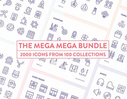 Line Icons – The Mega Mega Bundle
