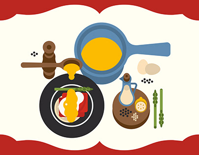 5 French Mother Sauces Infographics - Michelin Guide SG