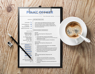 Free Police Officer Resume Template