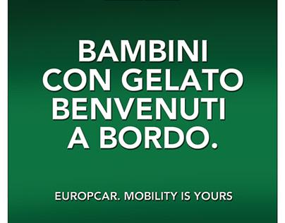 Europcar: formule noleggio, campagna integrata