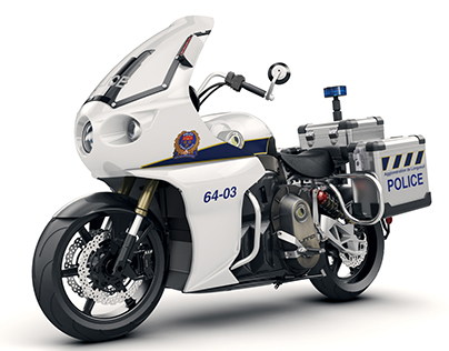 LITO POLICE electric motorcycle