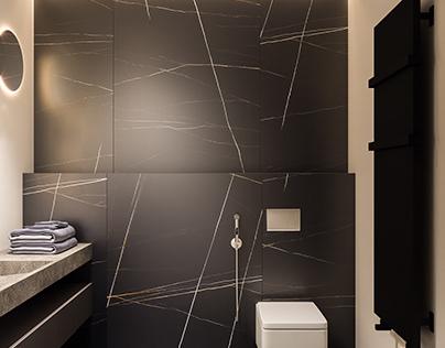 Minimalist Bath Visualization