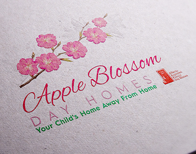 Logotype for Apple Blossom Day Homes