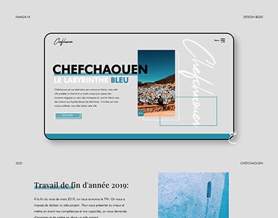 Chefchaouen, Le labirynthe bleu