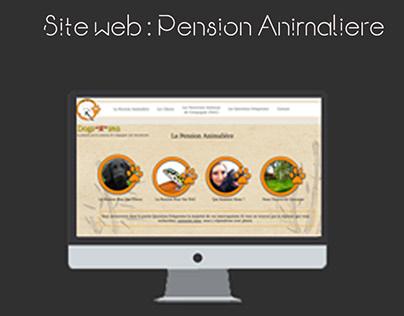 Site Web pour Pension Animalière