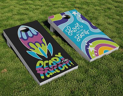 UFOs Pensacola Beach   Cornhole Game, Apparel, Stickers