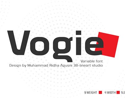 Vogie Sans Serif