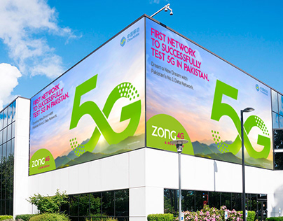 Banner Design | Successfully Test 5G | ZONG 4G