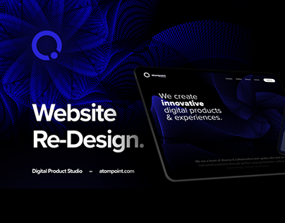 Atompoint Website Design UI/ UX Case Study
