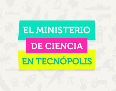 El Ministerio de Ciencia en Tecnópolis