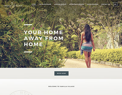 Vanilla Village - Website Design