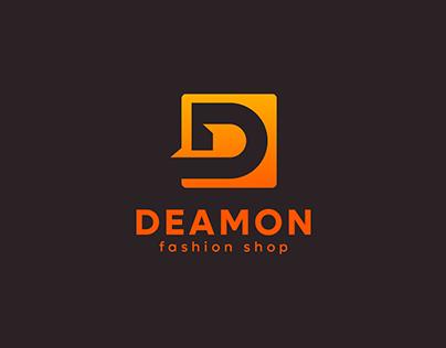 D letter logo   Modern letter logo