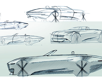 ARCHIVE - FREE CAR SKETCHING (2013-2015)