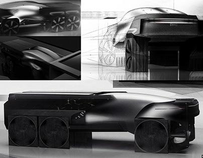 Audi x Penthouse concept design