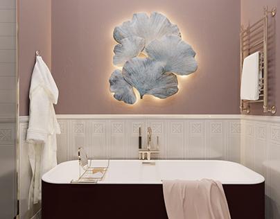 Девичья ванная \ Bathroom for the girl