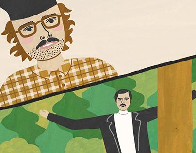 Anton Lapenko Inspired Illustration