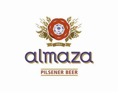 Almaza Beer Rebrand