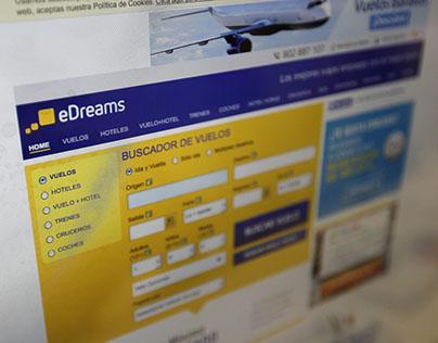 eDreams - UX redesign
