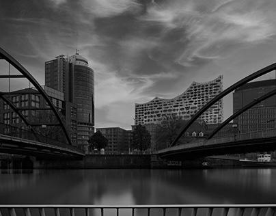 Elbphilharmonie Hamburg black & white