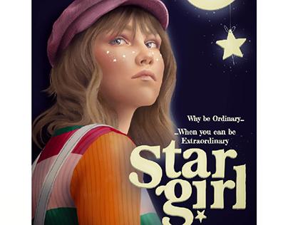 Stargirl digital illustration