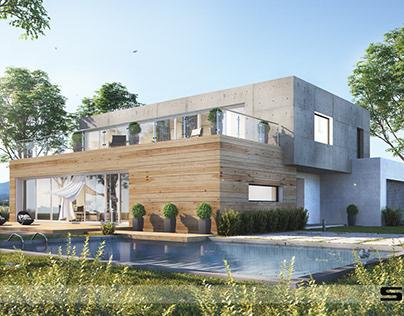 HOUSE ON HORIZON SK-ARCHITEKCI