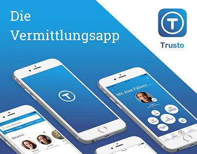 Trusto – Concept and brand of a community platform