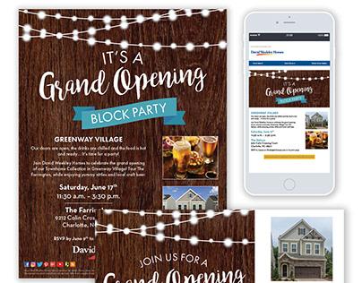 Greenway Village Grand Opening- 2018 GDUSA Winner