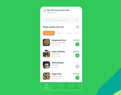 VeganGo | UI/UX | 2020