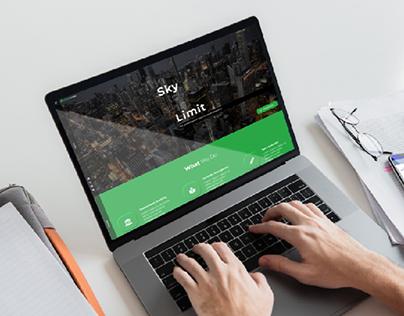 EdgeLedger Website (Re-designed)