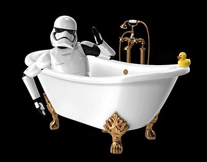 Star Wars Bathroom Series