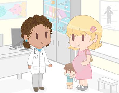 Personagens de Tele-educação