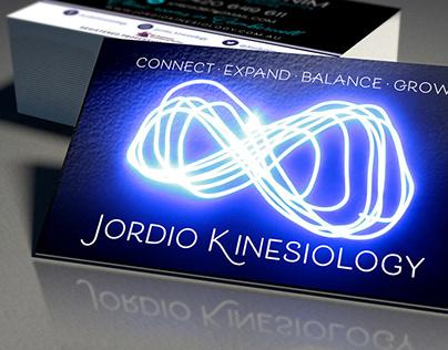 Jordio Kinesiology • Business Cards