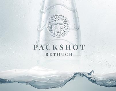 Packshot of Bottled Water