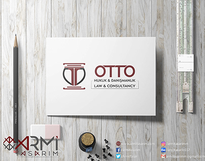 Otto Hukuk İçin Tasarladığımız Logo Tasarımı