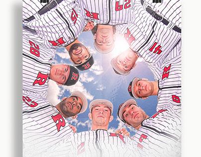 2019 Rutgers Baseball Poster