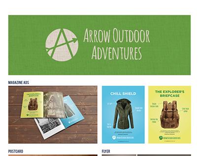 Arrow Outdoor Adventures Consumer Ad Campaign