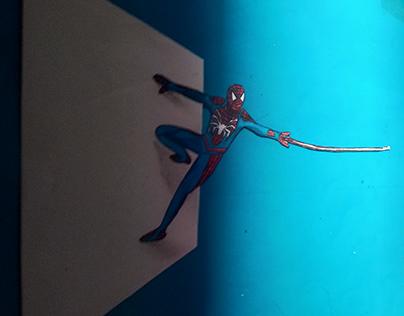 Action 3 dimension spider man
