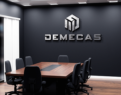 DEMECAS Logo design