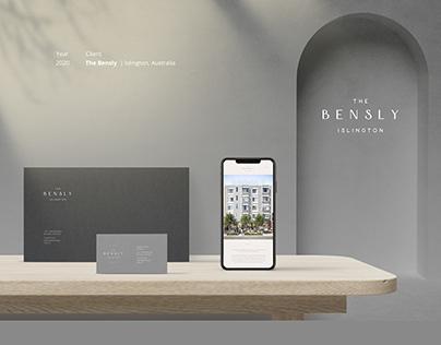 The Bensly Hotel Branding