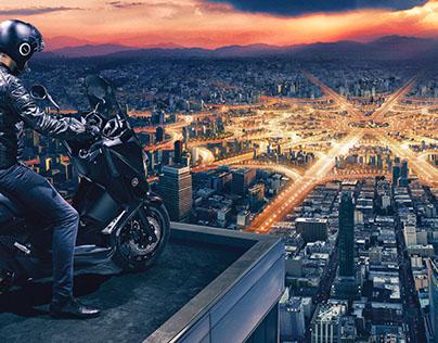 Yamaha XMAX Ad