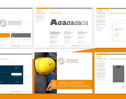 Brand Identity Manual for Termomeccanica S.p.A.