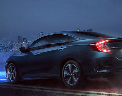 Honda Civic - Night and Day