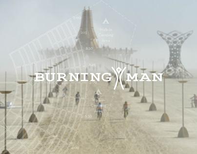 Burning Man - Docu Team ID branding