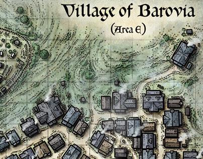 Village of Barovia Map