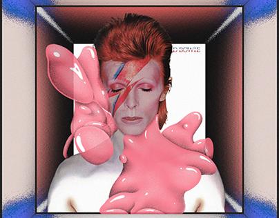 studio mostro x ThisCover / David Bowie - Aladdin Sane