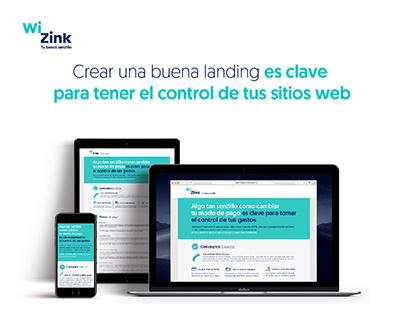 WiZink (Responsive Web Design)