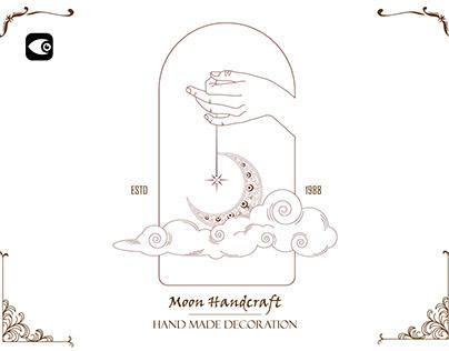 Hand Logo Template - Line Art
