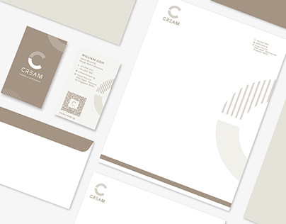 Cream Interiors and Architecture Branding